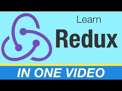 Redux Tutorial - Learn React/Redux in one video