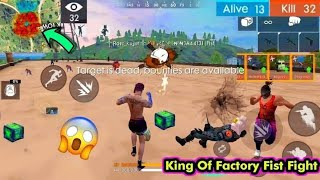 Free Fire Fist Fight On Factory Custom Room part 6 | One punch man | GLOBAL PLAYER IN THE ROOP