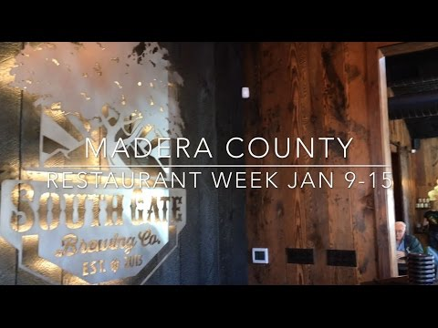 A Taste of Madera County Restaurant Week 2017 with South Gate Brewing Company