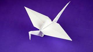 Как сделать журавлика из бумаги своими руками поэтапно. Пошаговая сборка, оригами, мастер класс.