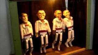 Dancing Wooden Men