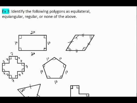 Classifying Polygons   CK-12 Foundation   A Regular Triangle