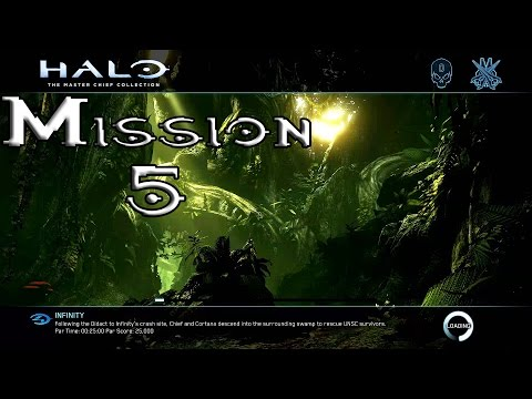 Halo 4 - Infinity - Mission 5 Walkthrough (1080p60fps) Xbox One MCC