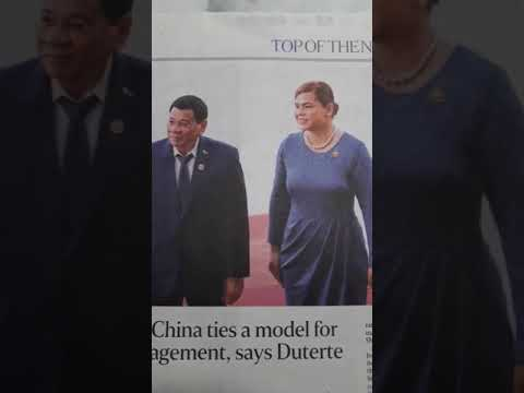 Fake News of The Straits Times reporting on Duterte