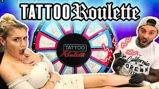 Tattoo Roulette: ANIMALS!! (ft. Taylor Dean)