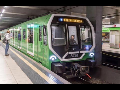 Metropolitana Milano – LEONARDO LIVREA VERDE (NUOVO TRENO ATM) – METRO LINEA VERDE M2