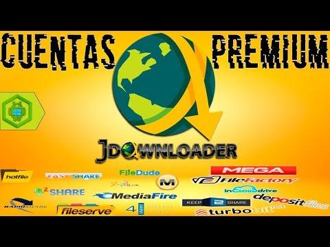 CUENTAS PREMIM JDOWNLOADER 2 (ACTUALIZADA JUNIO 2019)