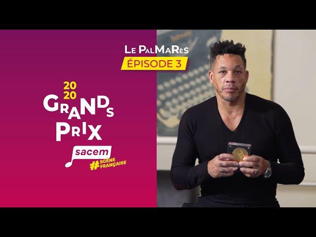 Grands Prix Sacem 2020 : les lauréats - Episode 3 | Grands Prix Sacem