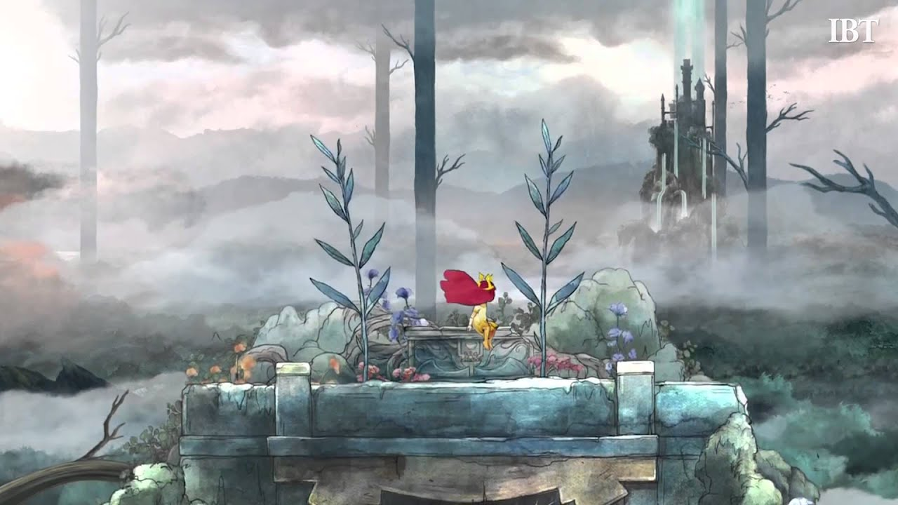 Game with watercolor -  Child Of Light A New 2d Platformer From Ubisoft Youtube