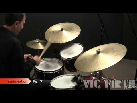 Drumset Lessons with John X: Jazz Fills, Part One - 16th Notes