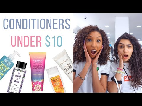 Conditioners Under $10 For Curly Hair // Ft. Bianca Renee