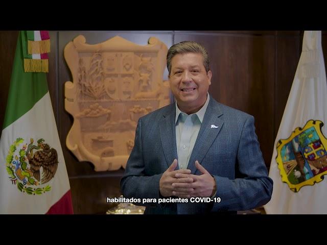 Gobernador de Tamaulipas emite un mensaje urgente