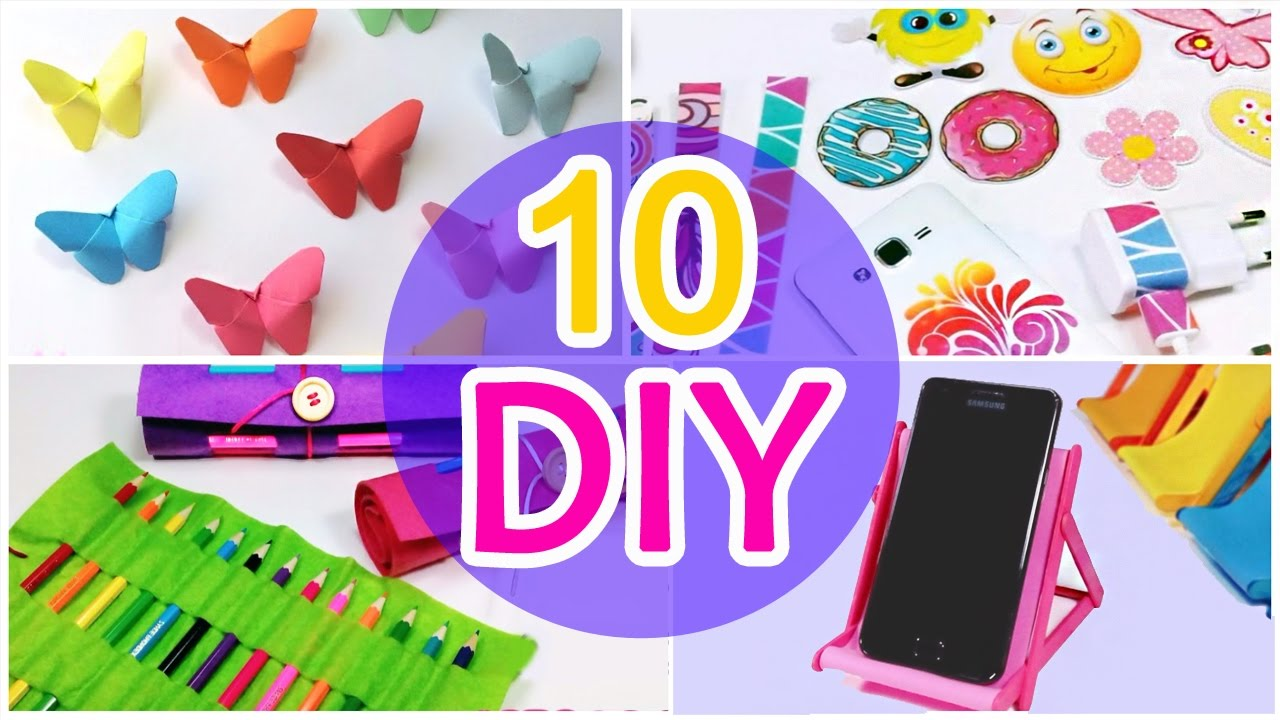 5 Minute Crafts To Do When You Re Bored 10 Quick And Easy Diy Ideas Amazing Diys Craft Hacks Youtube