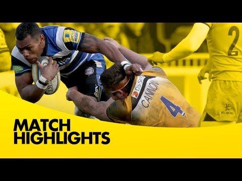 Bath Rugby Vs London Wasps - Aviva Premiership Rugby 2013/14