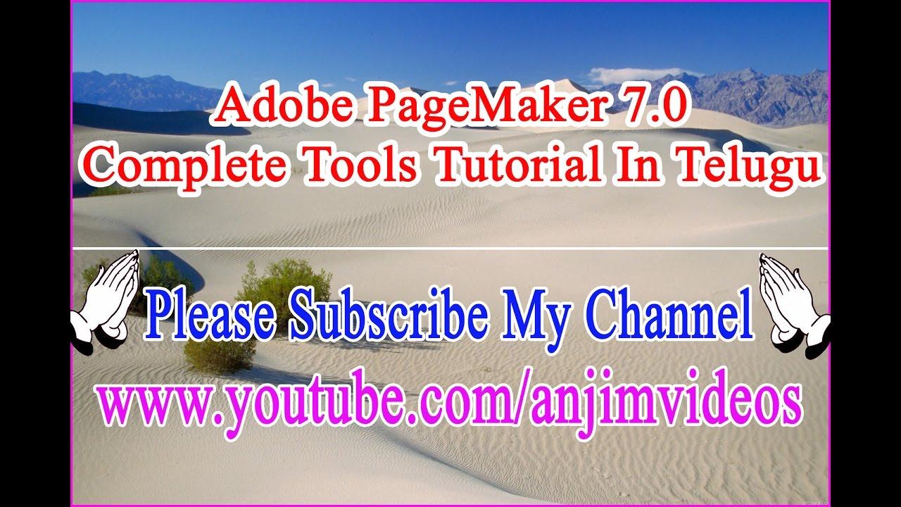Pagemaker 70 complete tutorial in telugu adobe pagemaker 70 pagemaker 70 complete tutorial in telugu adobe pagemaker 70 complete tutorial in telugu baditri Gallery