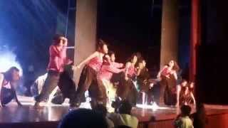 SWEETY SHARMA DANCING WITH 'SOUL 2 SOLE' GROUP