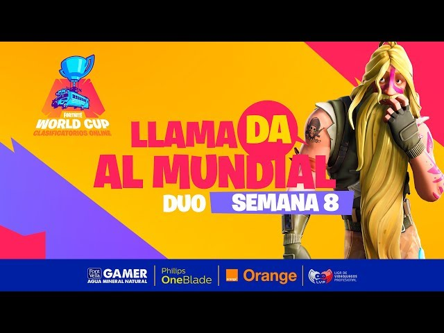 Llamada al mundial - Fortnite World Cup - Semana 8 Dia 2 - DÚO parte 3