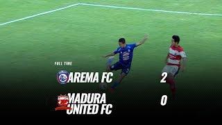 [pekan 27] Cuplikan Pertandingan Arema Fc Vs Madura United Fc, 8 November 2019