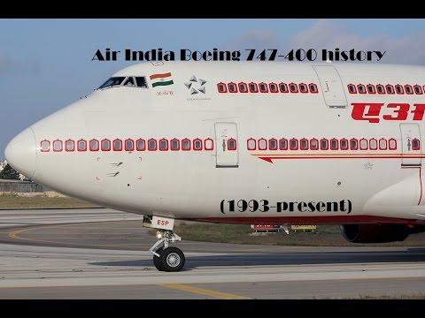 Fleet History - Air India Boeing 747-400 (1993-present)