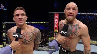 UFC 257: Порье Vs МакГрегор 2 - Слова после боя