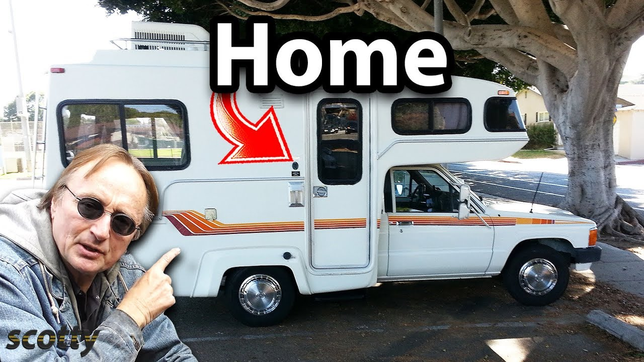 What It's Like Living in a Toyota Motorhome RV and Why They Stopped Making  Them