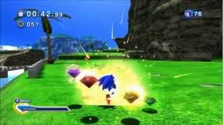 Sonic Generations: Emerald Coast Gameplay (S-Rank)