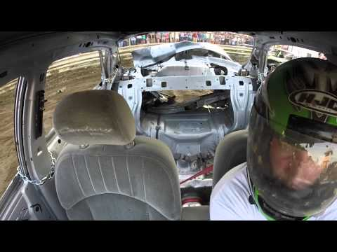 2015 Saratoga County Fair Demo Derby