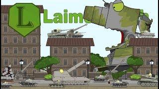 Мультики про танки Монстр Карлзилла. Підготовка до нападу. LaimenFlash