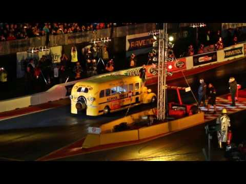 NitrOlympx 2016 | Hockenheimring | Drag Race | Jet Bus 25000 PS