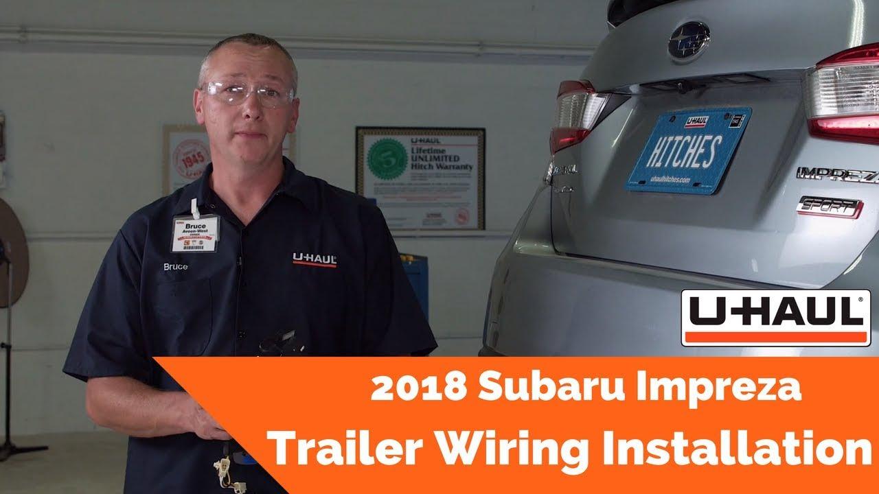 Subaru Impreza Trailer Wiring Harness Diagram Libraries 2018 Installation Youtubesubaru 8