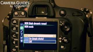 How to shoot HDR photos with Nikon D600