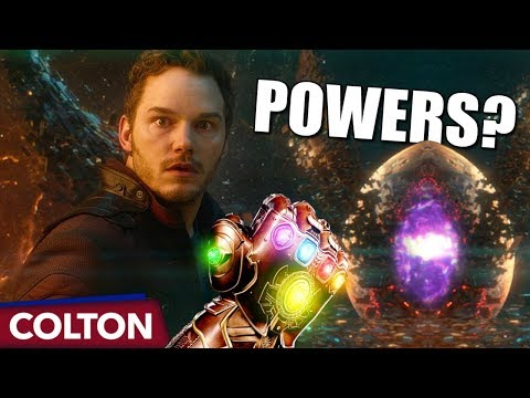 What are Star-Lord's powers in Avengers Infinity War?
