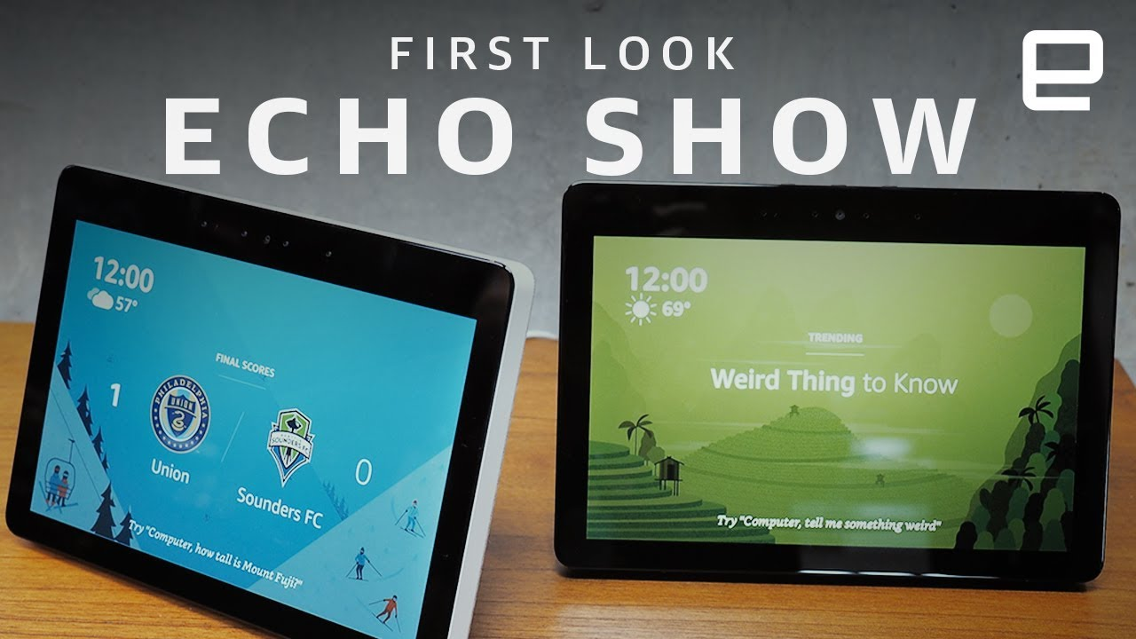 The second gen amazon echo show is slimmer but packed with - Home design shows on amazon prime ...