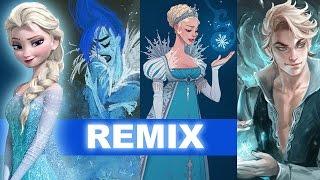 frozen s elsa concept art to genderbend to frozen 2 aka frozen fever beyond the trailer