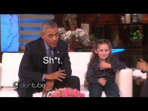 President Obama Asked About Aliens On Ellen