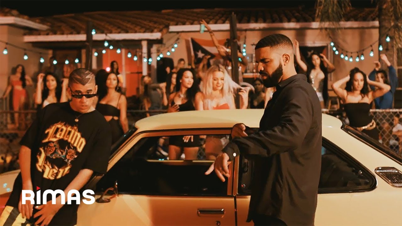 MIA by Bad Bunny & Drake still image from official music video.
