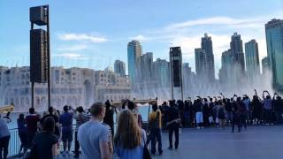 Dubai Fountain and