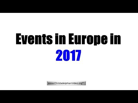 **MUST SEE** Significant Events in Europe foretold in the Bible - What does this mean?