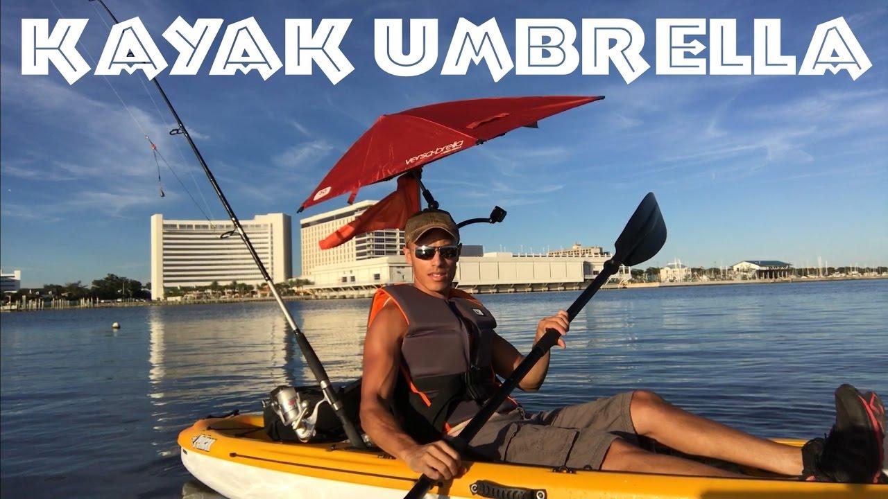 Best Kayak Umbrella Review for Sun Shade  Versabrella