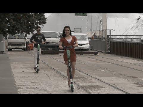 Lime e-scooters: Genius idea or public nuisance?
