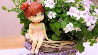 Лепка куклы из шоколадной пасты. Часть Вторая - Украшение тортов с Натальей Фёдоровой
