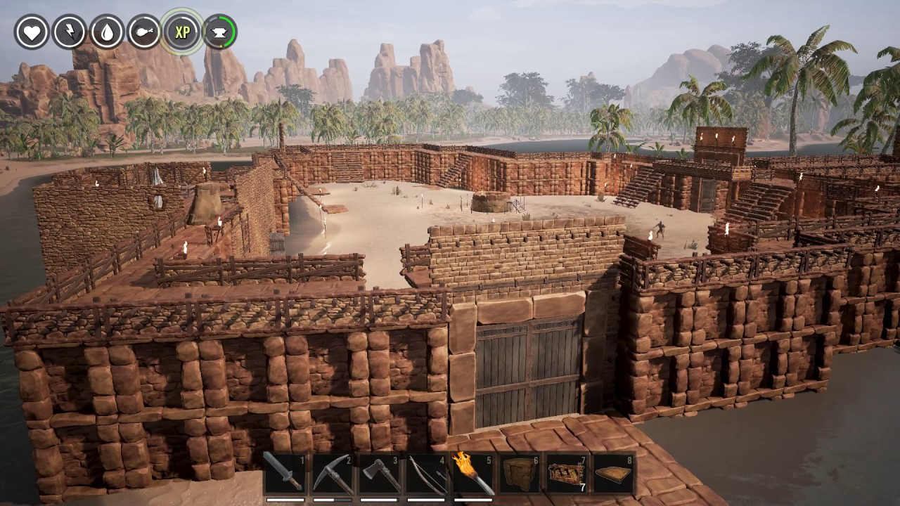how to start again on a server in conan exiles