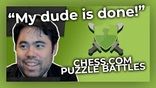 Trying Out Puzzle Battles! Hikaru Nakamura Puts His Puzzle Rush Skills to the Test