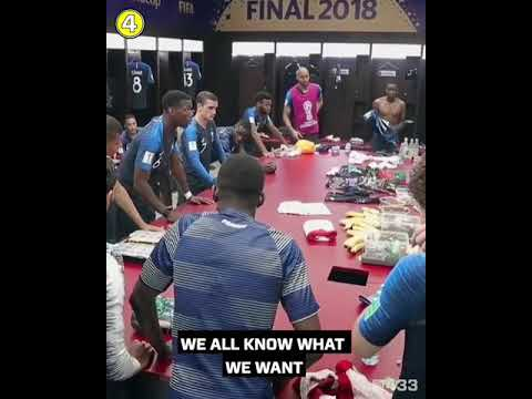 Paul Pogba Pre-final Match Speech Russia World Cup 2018