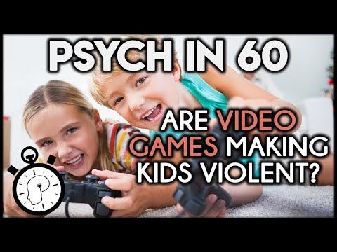 Are Video Games Making Kids Violent? | Psych in 60