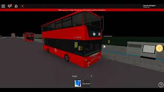 Roblox London Hackney & Limehouse Bus Simulator remodelado Scania Omnicity DD SLN Route 115:D