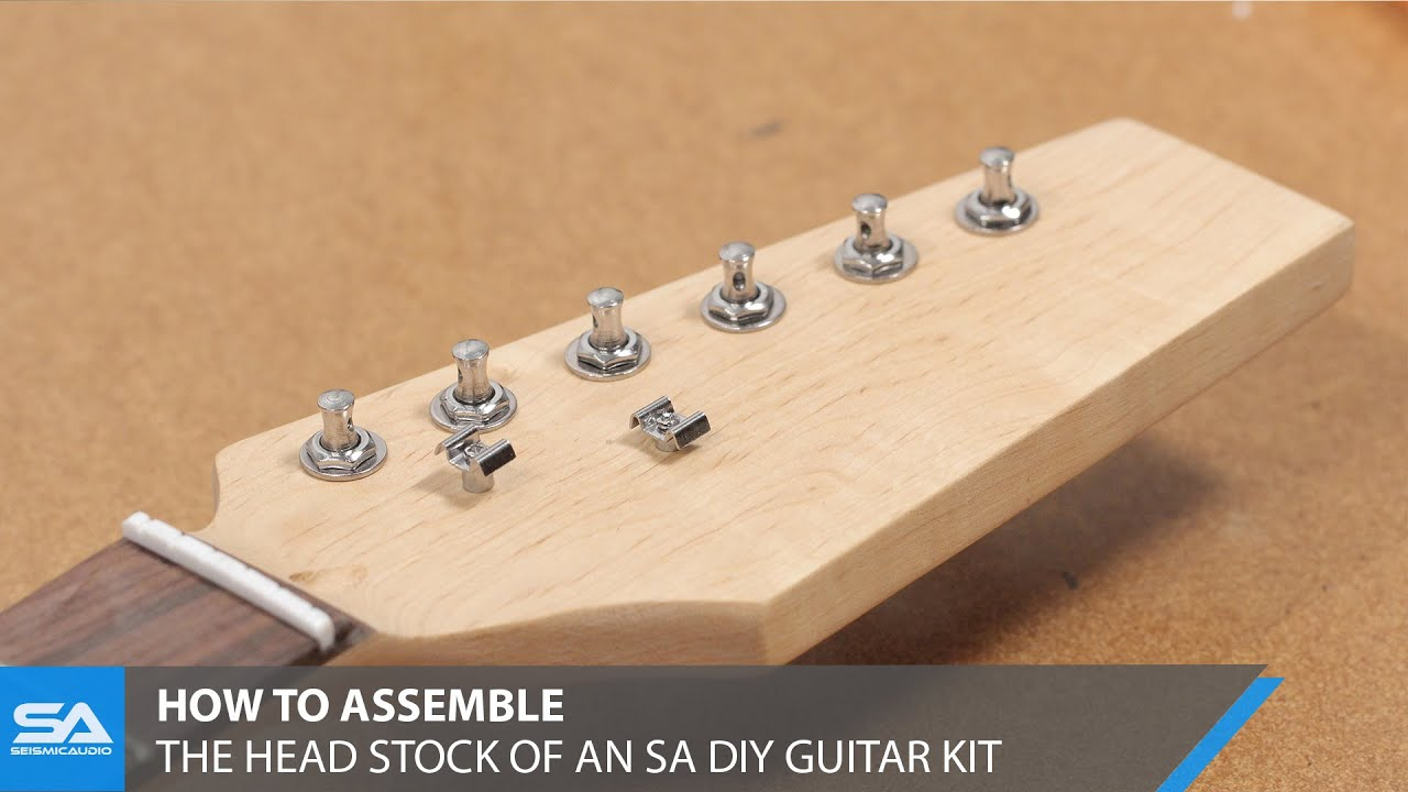 maxresdefault how to assemble the head stock of a seismic audio diy guitar kit  at mifinder.co