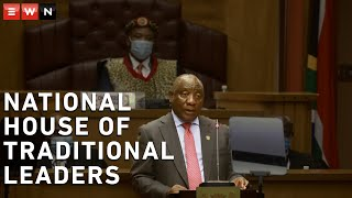 President Cyril Ramaphosa delivered the opening address of the National House of Traditional Leaders on 4 March 2021. Ramaphosa thanked the leaders for their contribution to the fight against Covid-19.