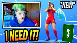 "NINJA REACTS TO *NEW* ""BATTLE CALL"" EMOTE/DANCE! *TERRIFYING* Fortnite FUNNY & SAVAGE Moments"