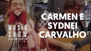 LIGIA - Carmen e Sydnei Carvalho Stand Cifra Club no Music Show